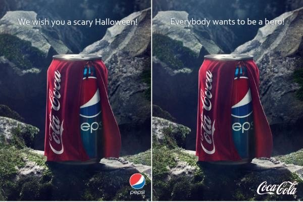 Subliminal message in ads by Pepsi and Coca-Cola